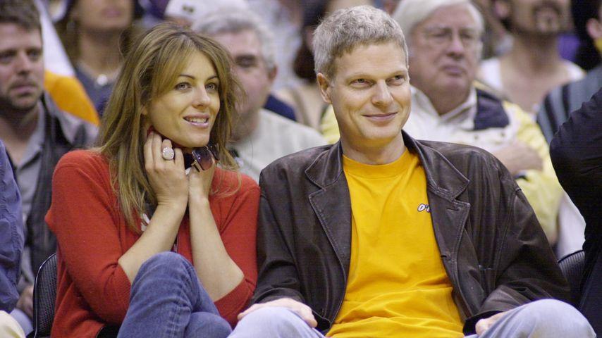 Liz Hurley und Steve Bing 2001