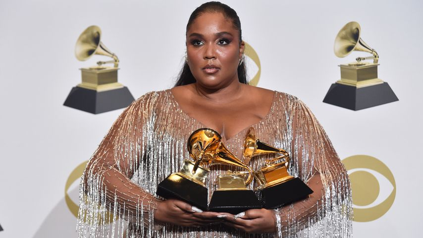 "Lizzo, Grammy-Award-Gewinnerin in der Kategorie ""Bestes Urban-Contemporary-Album"", 2020"