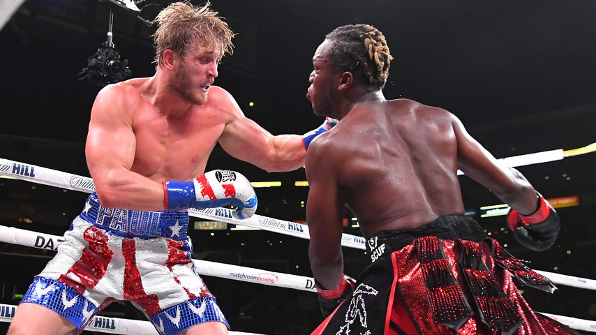 "Logan Paul vs. Olajide Olayinka Williams ""KSI"" im Staples Center in Los Angeles 2019"