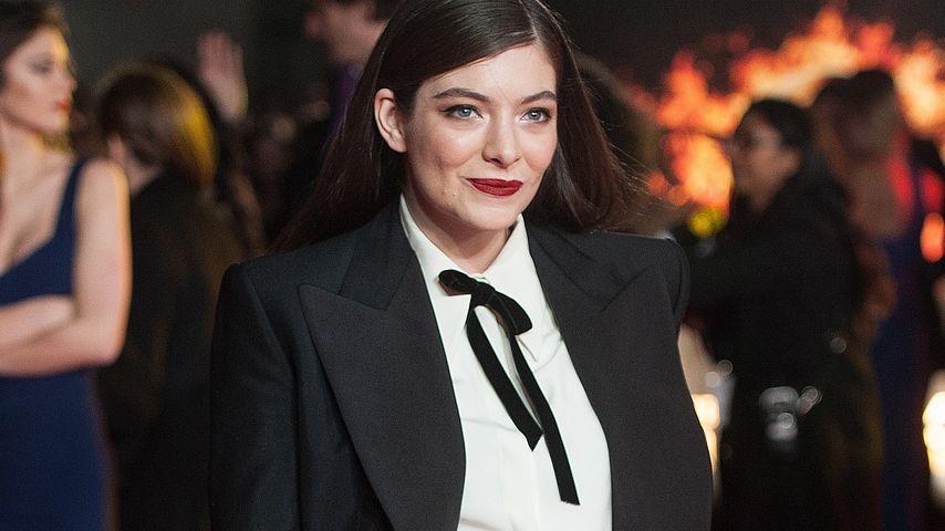 Lorde: Pluderhosen-Alarm auf dem Red Carpet