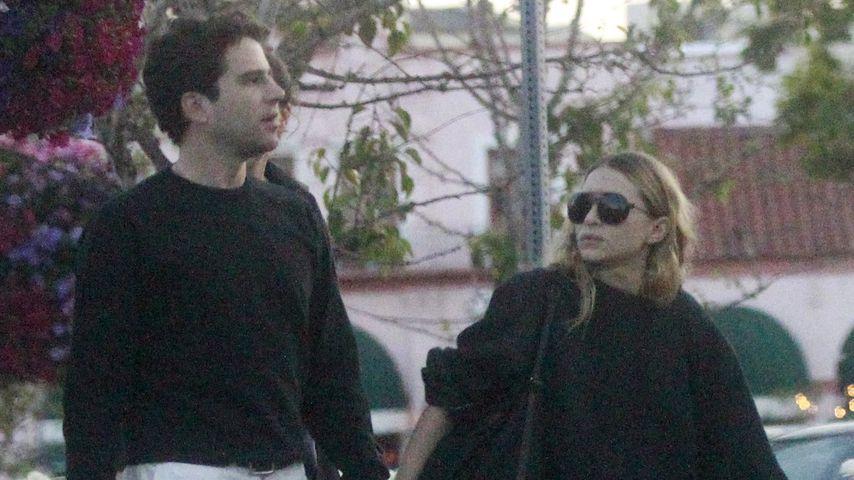 Megaselten: Ashley Olsen mit ihrem Louis Eisner unterwegs