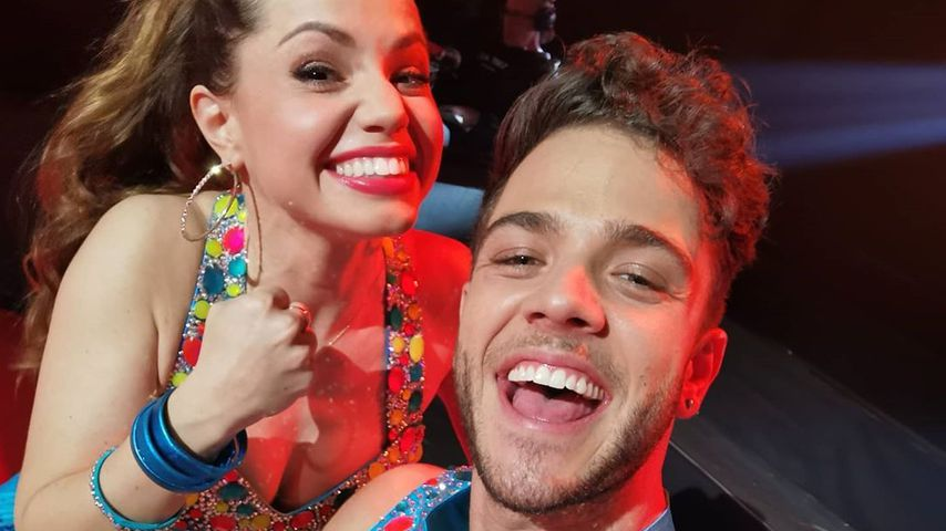 """Luca Hänni und Christina Luft bei """"Let's Dance"""""""