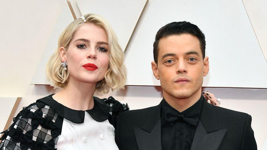 Lucy Boynton und Rami Malek bei den Academy Awards 2020