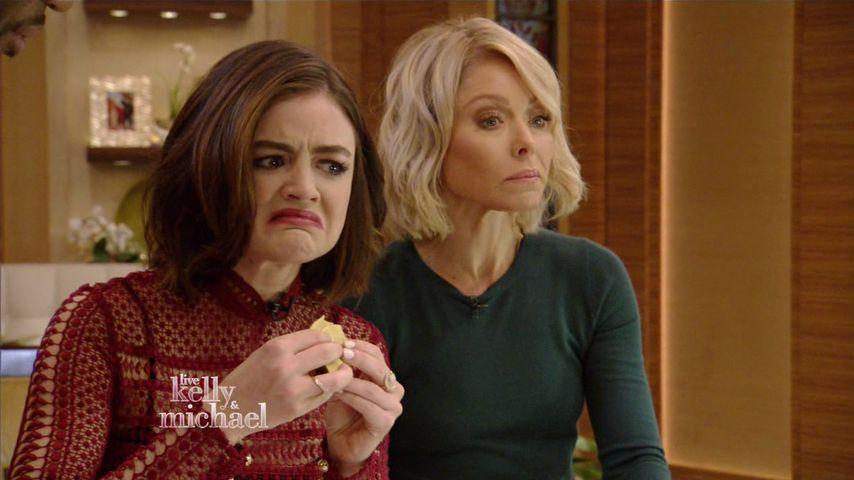TV-Mutprobe: PLL-Star Lucy Hale isst Krabbeltiere!