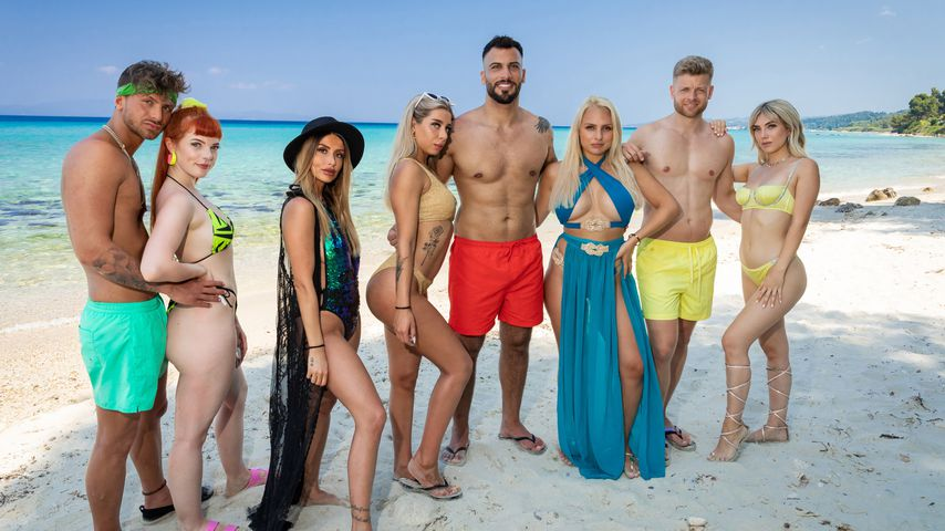 """Ex on the Beach""-Cast 2020: Luigi, Olivia, Christina, Walentina, Ferhat, Michelle, Paul, Loreen"
