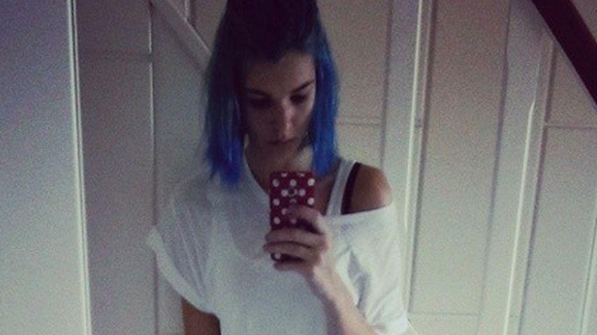 Style-Schock! GNTM-Luisa Hartema hat blaue Haare