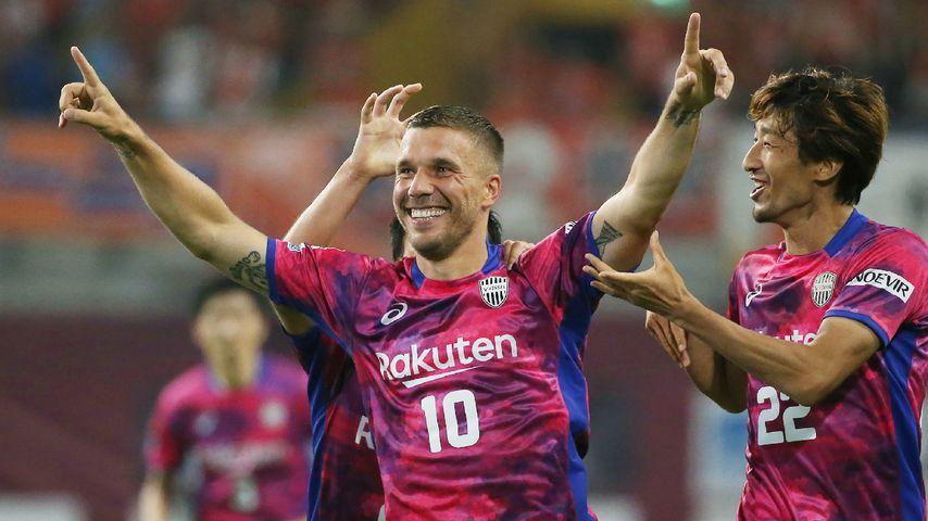Lukas Podolski, Vissel Kobe-Kicker