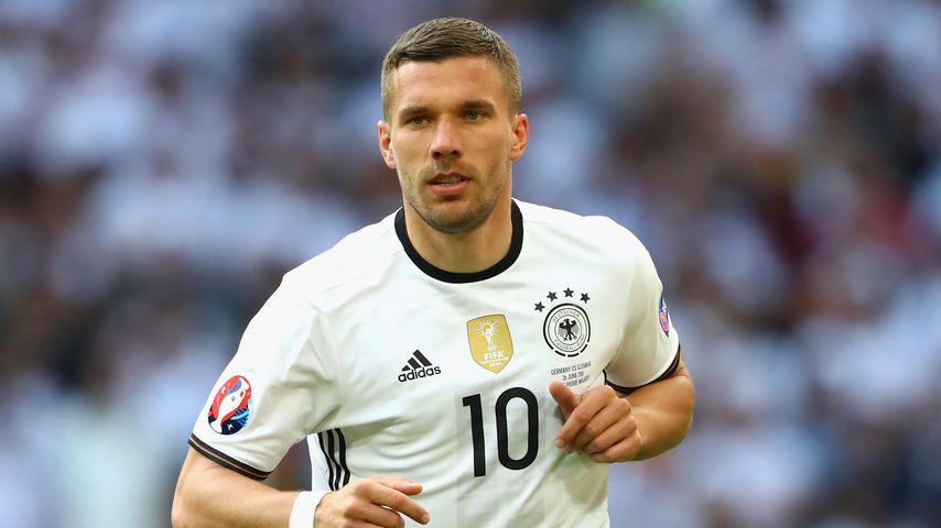 Nach DFB-Aus: Jetzt wird Lukas Podolski Synchronsprecher