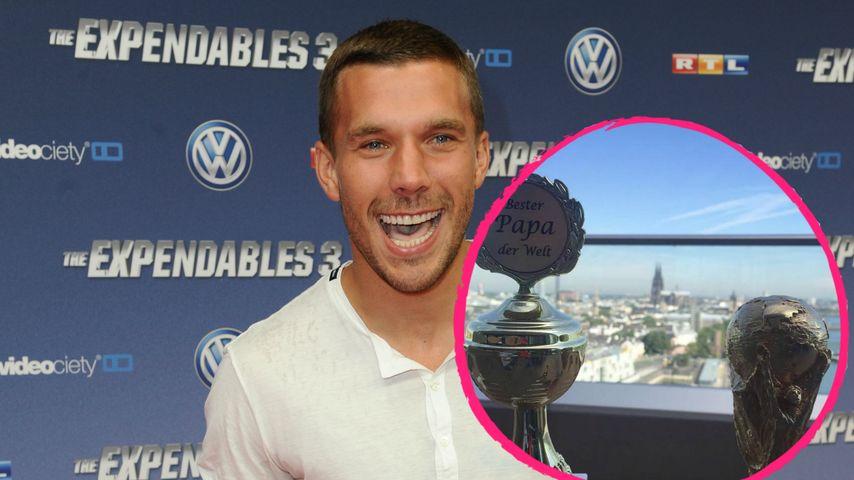 Lukas Podolski: Ein guter Papa sein ist besser als EM-Titel