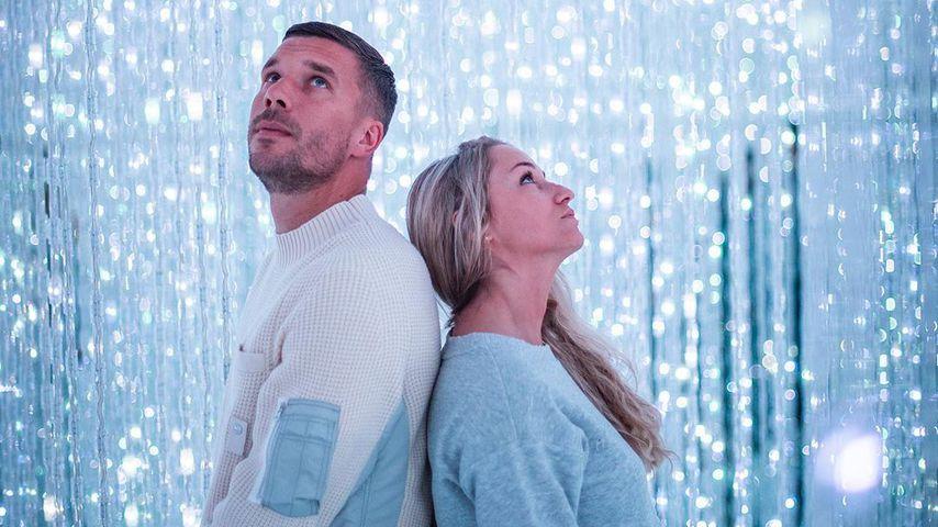 Lukas Podolski teilt niedlichen Pärchen-Post mit seiner Frau