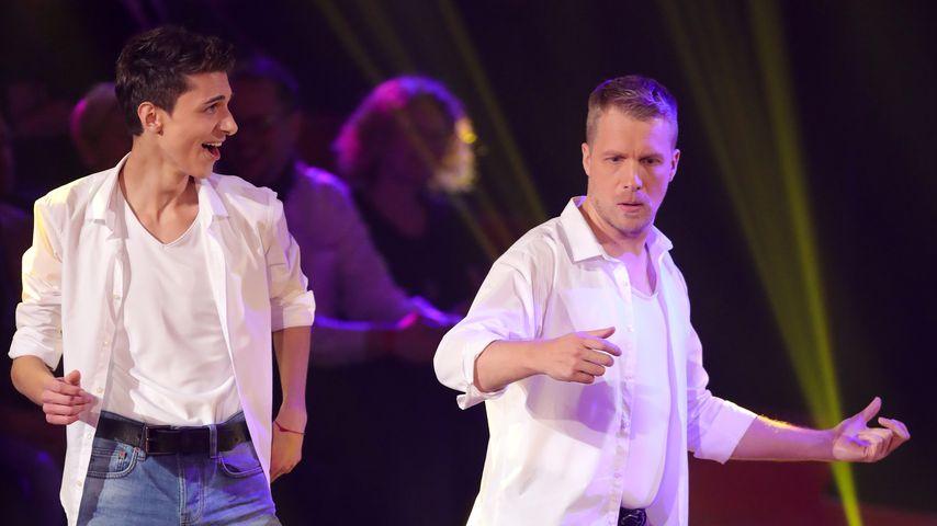 Lukas Rieger und Oliver Pocher bei Let's Dance