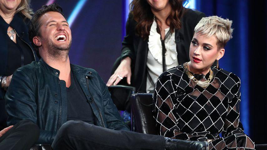 Luke Bryan überrascht Katy Perrys Baby mit einer Luftpistole