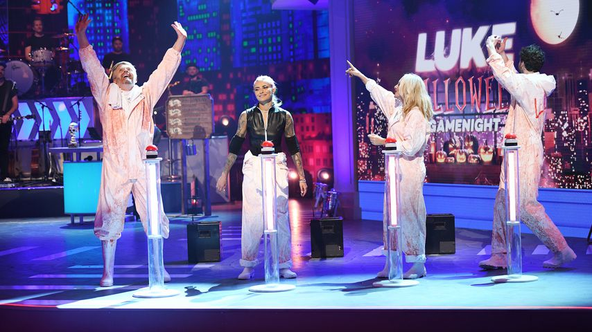 LUKE! Die Greatnightshow: Ross, Sophia, Evelyn und Luke beim Death-Metal-Spiel