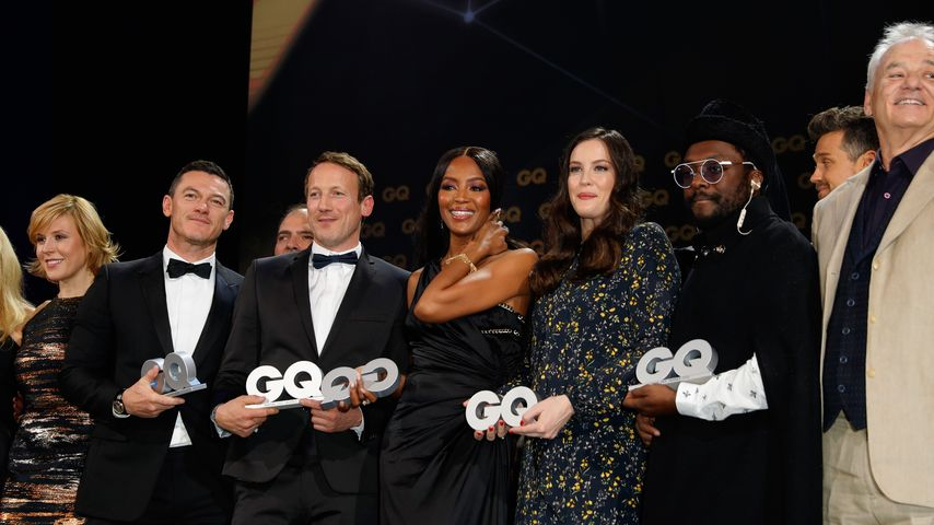 Luke Evans, Wotan Wilke Möhring, Naomi Campbell, Will.i.am, Liv Tyler & Bill Murray beim GQ-Award