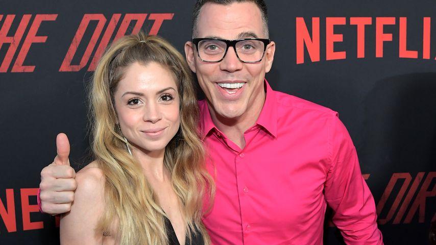 """Lux Wright und Steve-O auf der Netflix-Premiere von """"The Dirt"""", März 2018"""