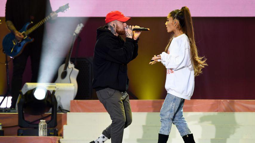 Mac Miller und Ariana Grande 2017 in Manchester