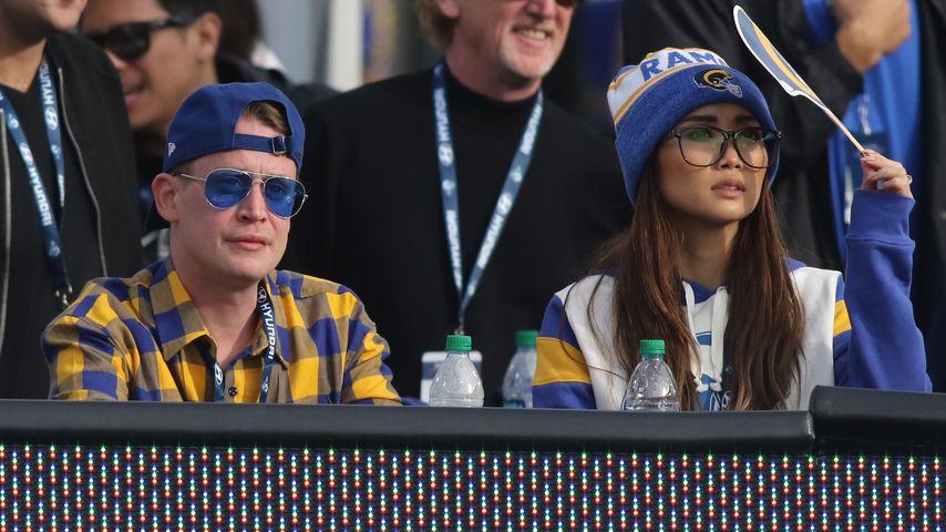 Macaulay Culkin und Freundin Brenda Song, Dezember 2019
