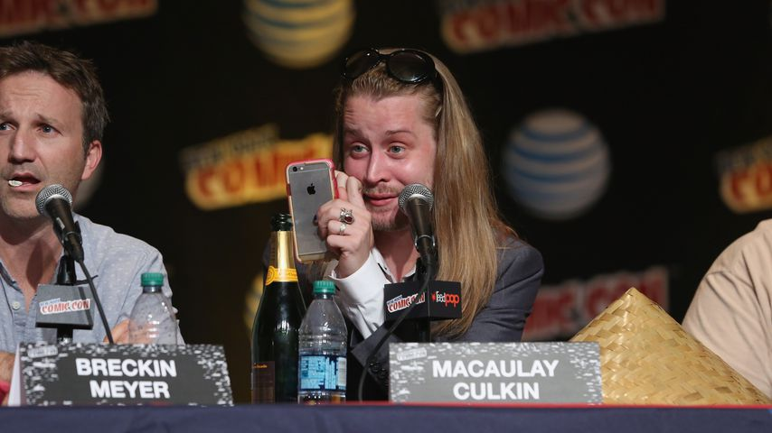 """Schauspieler Macaulay Culkin (""""Kevin – Allein zu Haus"""")"""