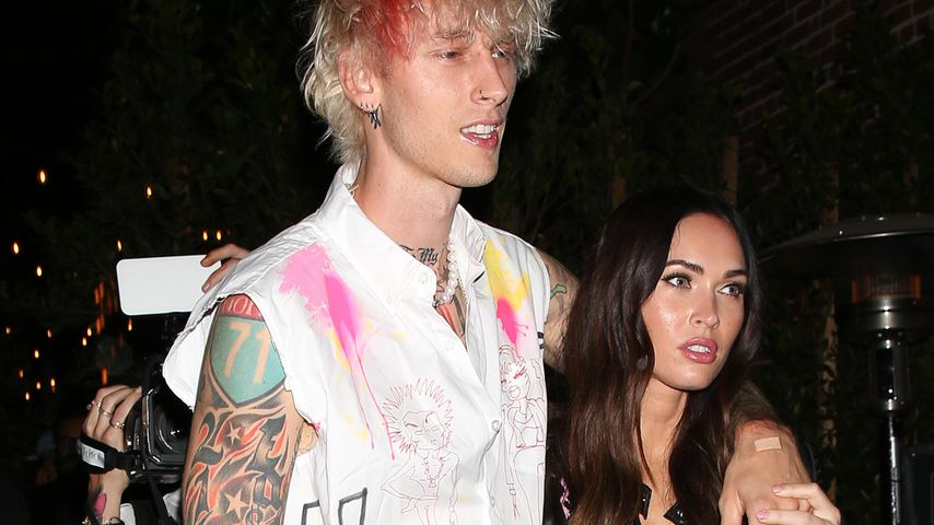 Machine Gun Kelly und Megan Fox in Los Angeles