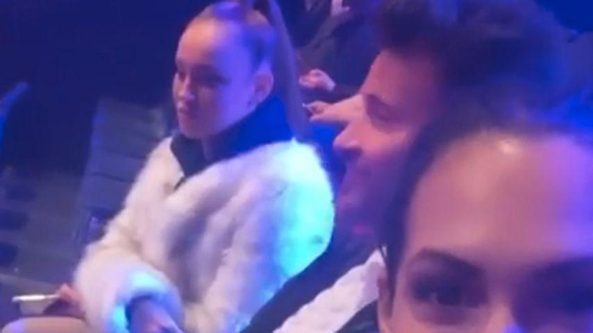 "Maddy Nigmatullin, Marc Eggers und Clea-Lacy Juhn bei ""Dancing on Ice"""