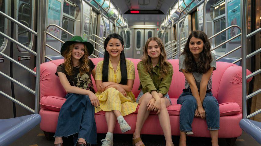 "Madeleine Arthur, Lana Condor, Emilija Baranac und Sofia Black-D'elia in ""To All the Boys: Always an"