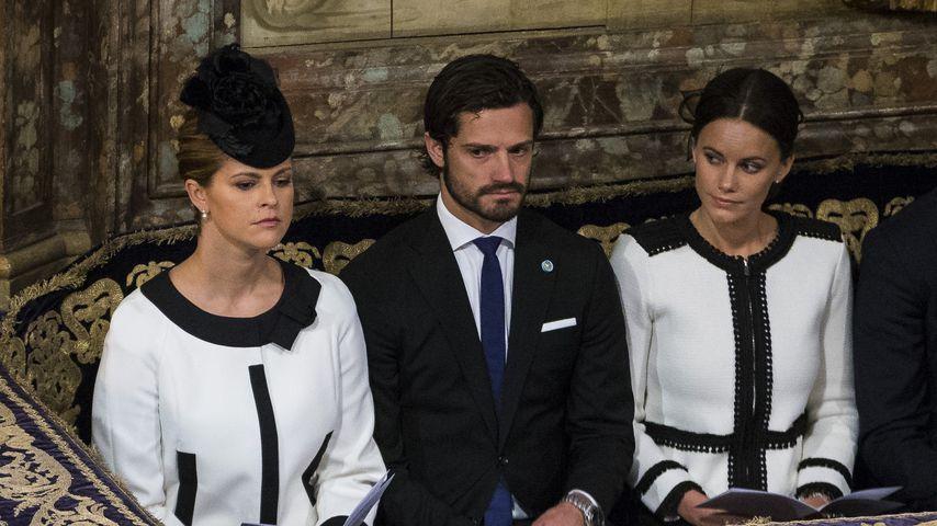 Prinzessin Madeleine, Prinz Carl Philip und Prinzessin Sofia von Schweden