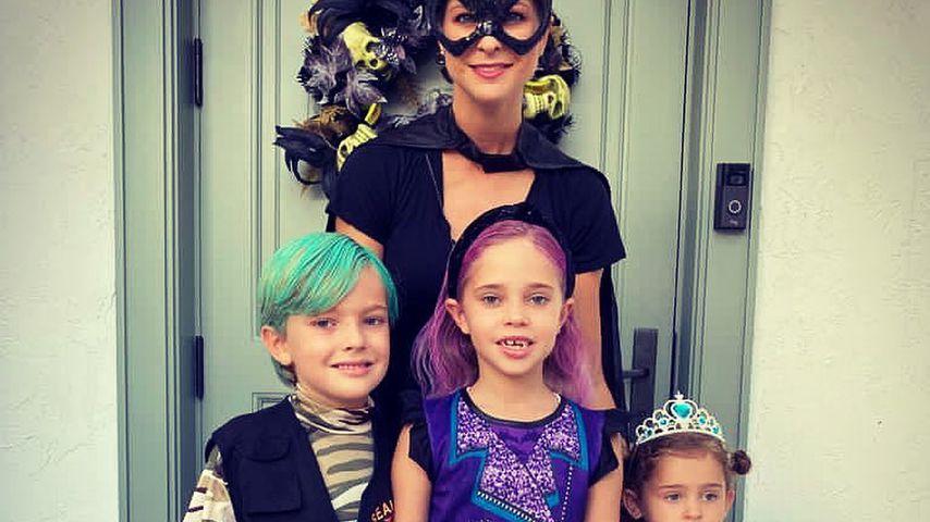 Mutige Haarfarben: Madeleine postet Halloween-Foto mit Kids