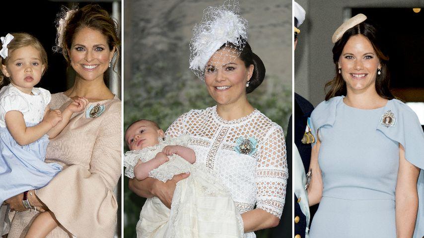 Madeleine von Schweden, Sofia Hellqvist und Prinzessin Victoria von Schweden