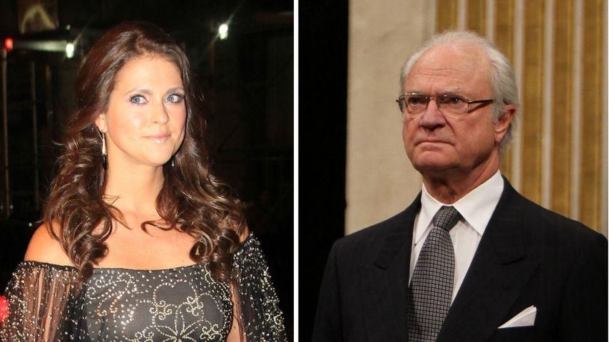 Madeleine von Schwedens Geständnis: Carl Gustaf zeigt Reue