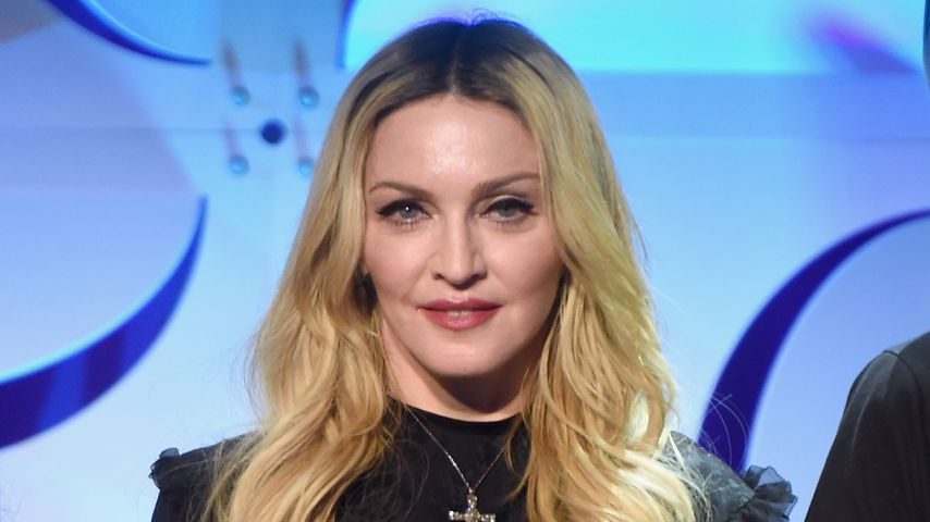 Madonna bei einer Party in New York