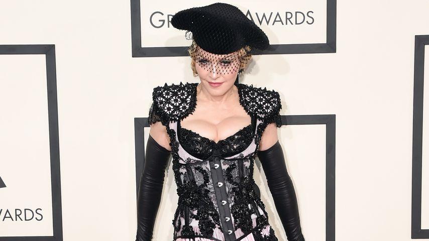 Einfach frech! Madonna steht zu Hintern-Fauxpas
