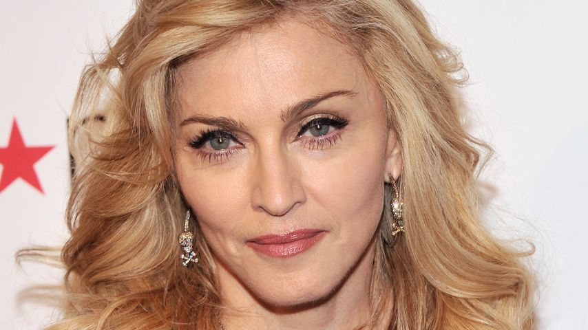 "Madonna beim Launch ihres Dufts ""Truth Or Dare"", 2012"