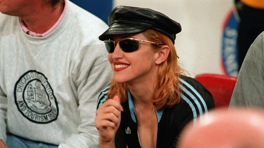 Madonna beim NBA Playoff 1993