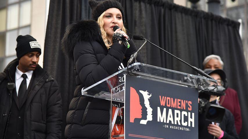 """""""Weißes Haus sprengen""""!? Madonna verteidigt krasse Wortwahl!"""