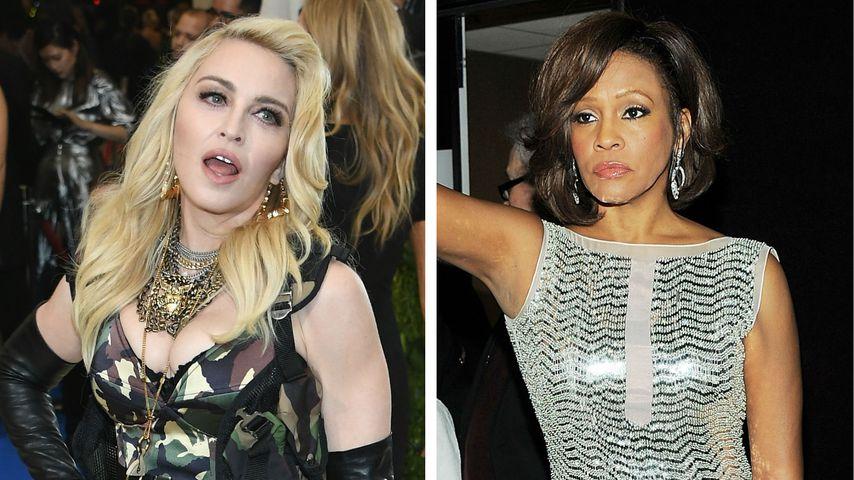 Madonna knallhart: Whitney Houston (†) war nur mittelmäßig!