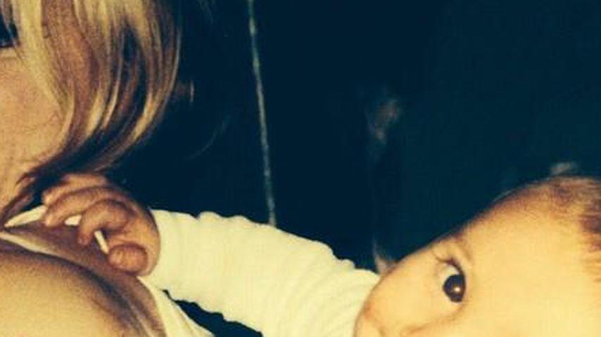 Privat ganz locker? Mama Madonna & ihr Baby Rocco