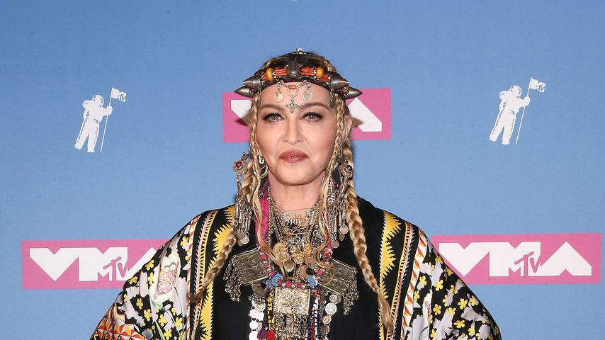 Madonna bei der Verleihung der MTV Video Music Awards 2018