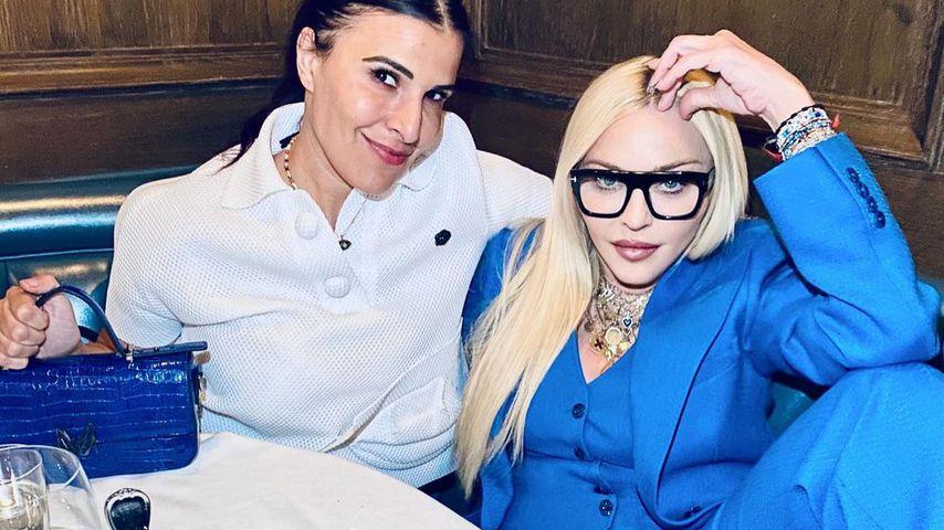 Madonna mit einer Freundin