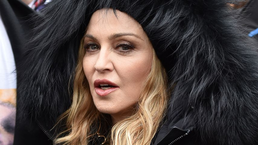 Madonna beim Women's March in Washington