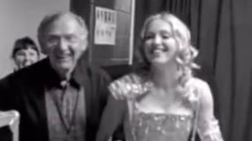 Madonna und ihr Vater Silvio