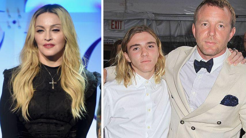 Gegen Madonna: Guy Ritchie & Sohn Rocco verbünden sich