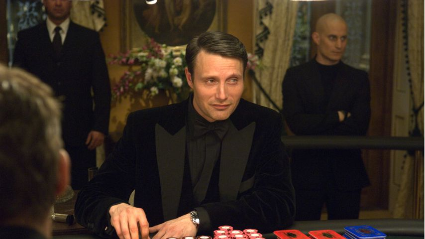 "Mads Mikkelsen als Le Chiffre in ""Casino Royale"""