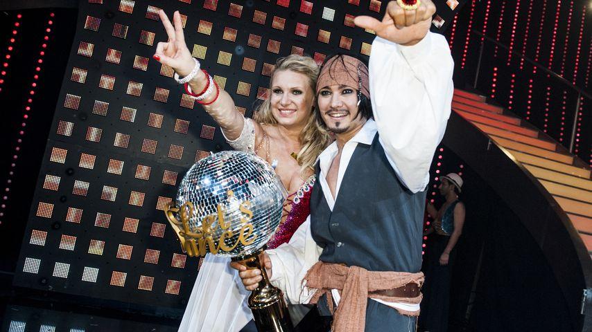 """Magdalena Brzeska und Erich Klann bei """"Let's Dance"""" 2012"""