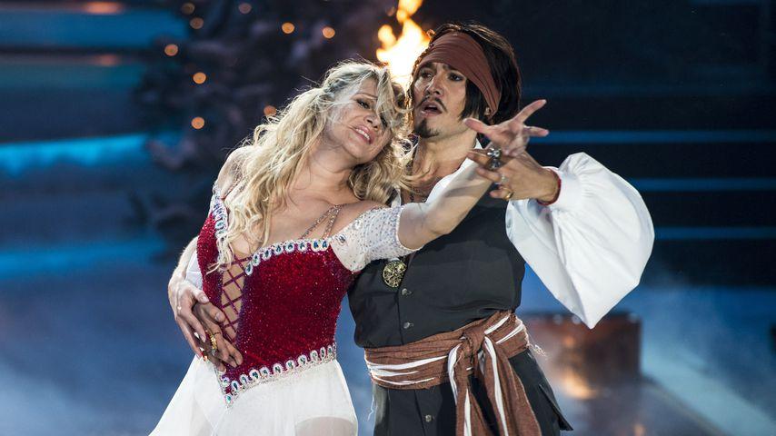 """Magdalena Brzeska und Erich Klann beim """"Let's Dance""""-Finale, 2013"""