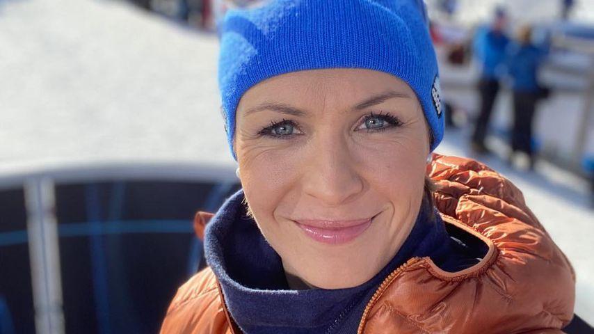 Magdalena Neuner im Januar 2020
