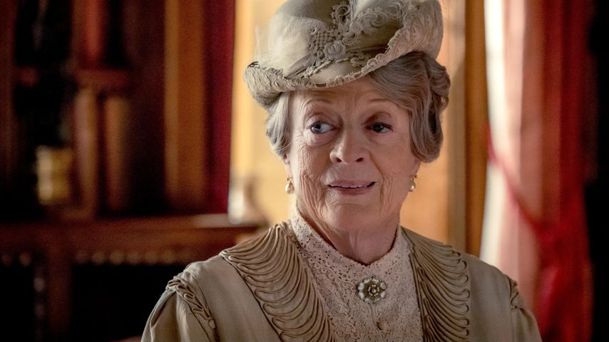 """Maggie Smith als Violet Crawley in """"Downton Abbey"""""""