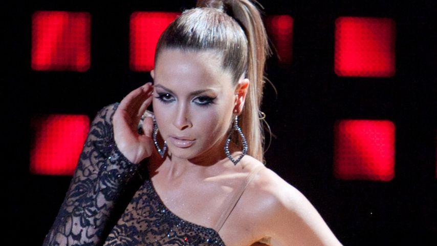 Mandy Capristo: So sexy im langen Spitzenkleid