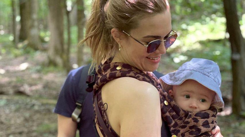 Schon sechs Monate alt: Mandy Moore schwärmt von ihrem Baby