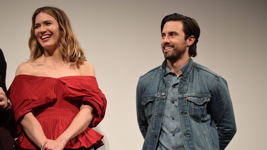 "Mandy Moore und Milo Ventimiglia, ""This Is Us""-Darsteller"