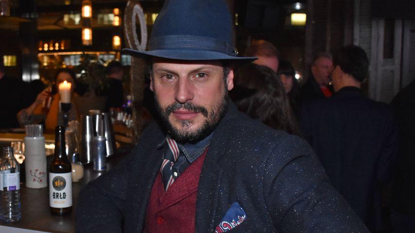 Manuel Cortez beim Pearl Fashion Aperitif
